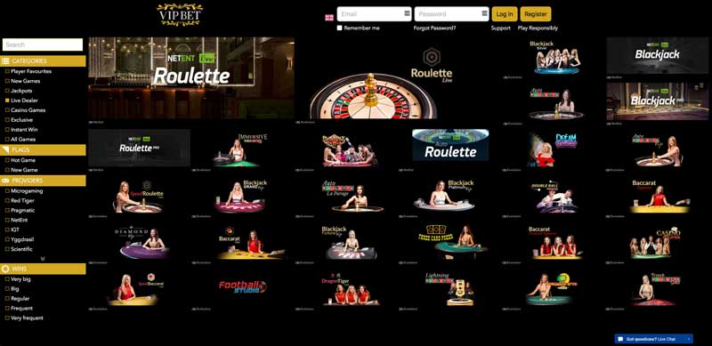 vipbet casino review